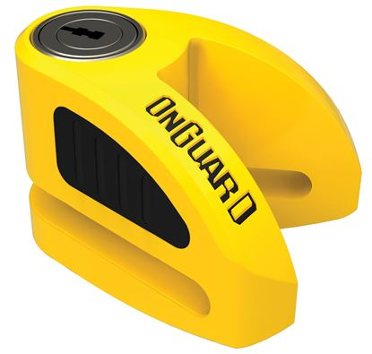 Picture of BOXER DISC LOCK, YELLOW (5.5mm) #8051Y