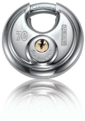 Picture of BULLMASTIFF ROUND KEY PADLOCK #8103