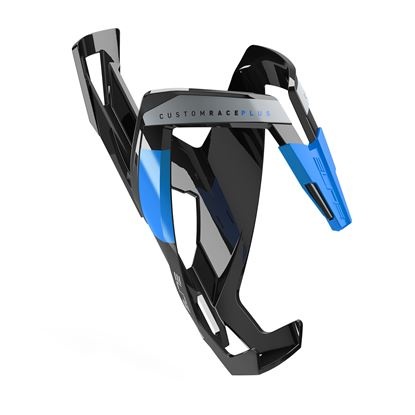 Picture of CUSTOM RACE PLUS BLACK glossy, blue graphic