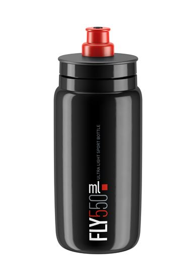Picture of FLY BLACK red logo 550 ml